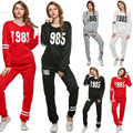 New suit women tracksuits print hoodies sweatshirt set tracksuits clothing sportswear set high quality drop shipping 41