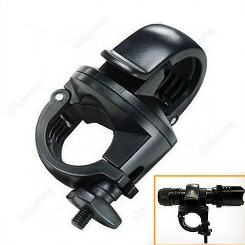 Flashlight Mount Holder For Torch Clip LED Bicycle Bike Drop Shipping Support