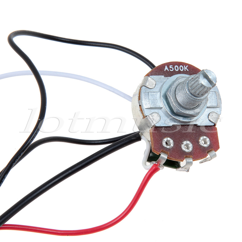 one set of electric guitar wiring harness 3 way 2v1t 500k open rh aliexpress com Wiring Harness Connector Plugs Wiring Harness Terminals and Connectors