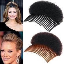 Горячая Распродажа, зажим для укладки волос, профессиональная паста для волос, устройство для увеличения прически, машинка для создания булочек, расческа для волос, женские губки для волос, инструменты для создания подушечек