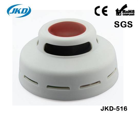 High Sensitive Smoke Detector Alarm Cordless Stable Standalone Smoke Alarm for Home Security
