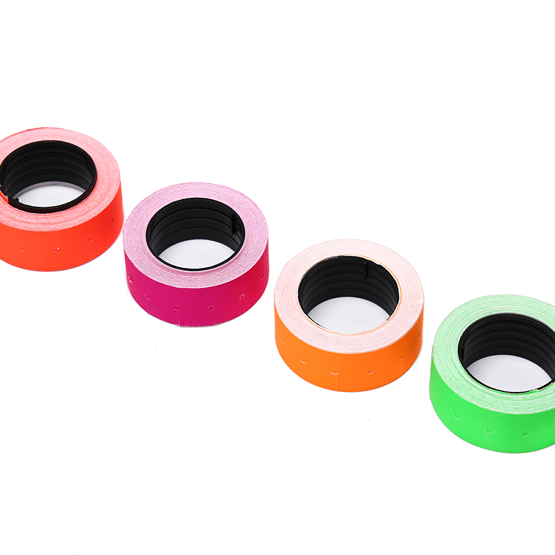 New Useful 500Pcs/Roll Colorful Price Label Paper Tag Mark Sticker For MX-5500 Labeller Hot Sale