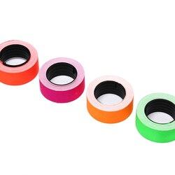 Yeni Kullanışlı 500 Adet/Rulo Renkli Fiyat etiket kağıdı Etiketi Mark Etiket MX-5500 Etiketleme Sıcak Satış