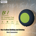 Original ROCK Mini Bluetooth Speaker Portable Subwoofer Shower Car Handsfree Call Music Suction Waterproof Speaker for Bathroom