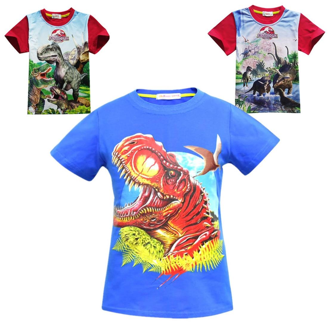 3943e7e2 Jurassic World dinosaur children boys cotton t shirt summer Autumn baby  gilrs kids Hoodie tops tee for boy print clothes costume - aliexpress.com -  imall. ...