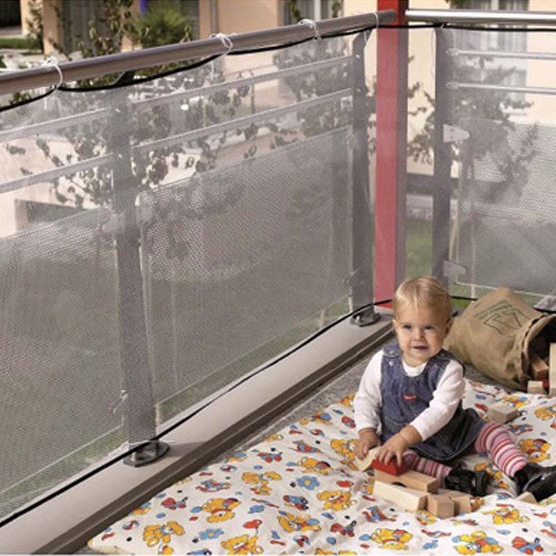 Baby Playpens Fence Child Safety Netting Children Balcony Stair Gate  Protector Home Toddler Product Protect Safety Net Kids Care In Baby  Playpens From ...