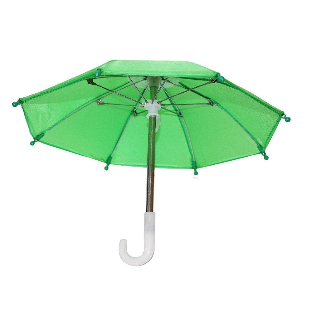 Linda Muñeca Juguetes hechos a mano Mini Paraguas para 18 pulgadas - Muñecas y accesorios - foto 5