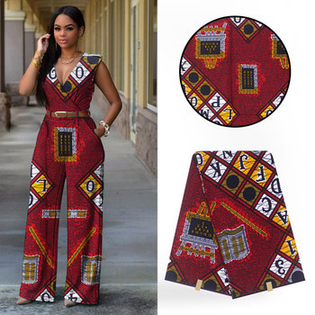High Quality African Super Wax Hollandais African Real Dutch Wax Hollandais  Wax 6Yards Lot For Women Dress 20b1e1493bf9