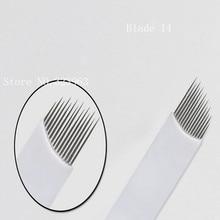 For Stainless Steel Premanent Makeup Needles Eyebrow Needles R5 /100pcs
