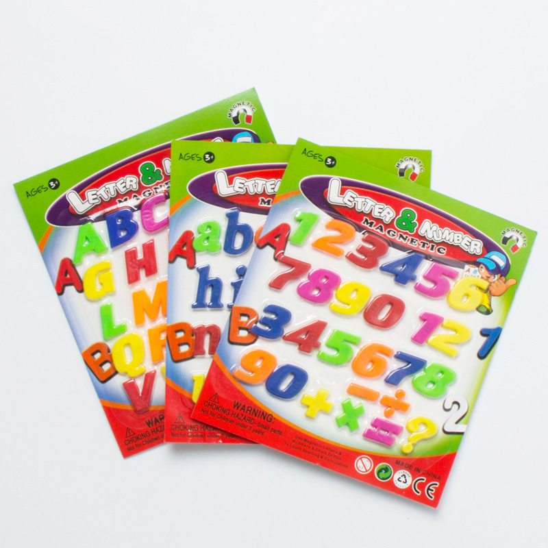 Moonbiffy New Alphabet Magnetic Letters ,Baby Educational ...