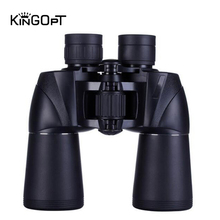 KINGOPT Powerful Binoculars 10x50 HD Professional Waterproof Long Range Zoom Telescopes No Night Vision for Hunting