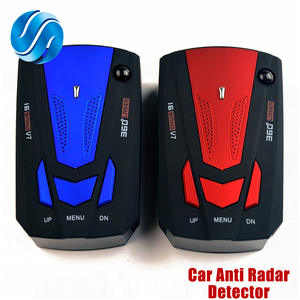 Viecar Auto Car Anti Radar Detector for Vehicle V7 Speed Voice Alert Warning 16 Band