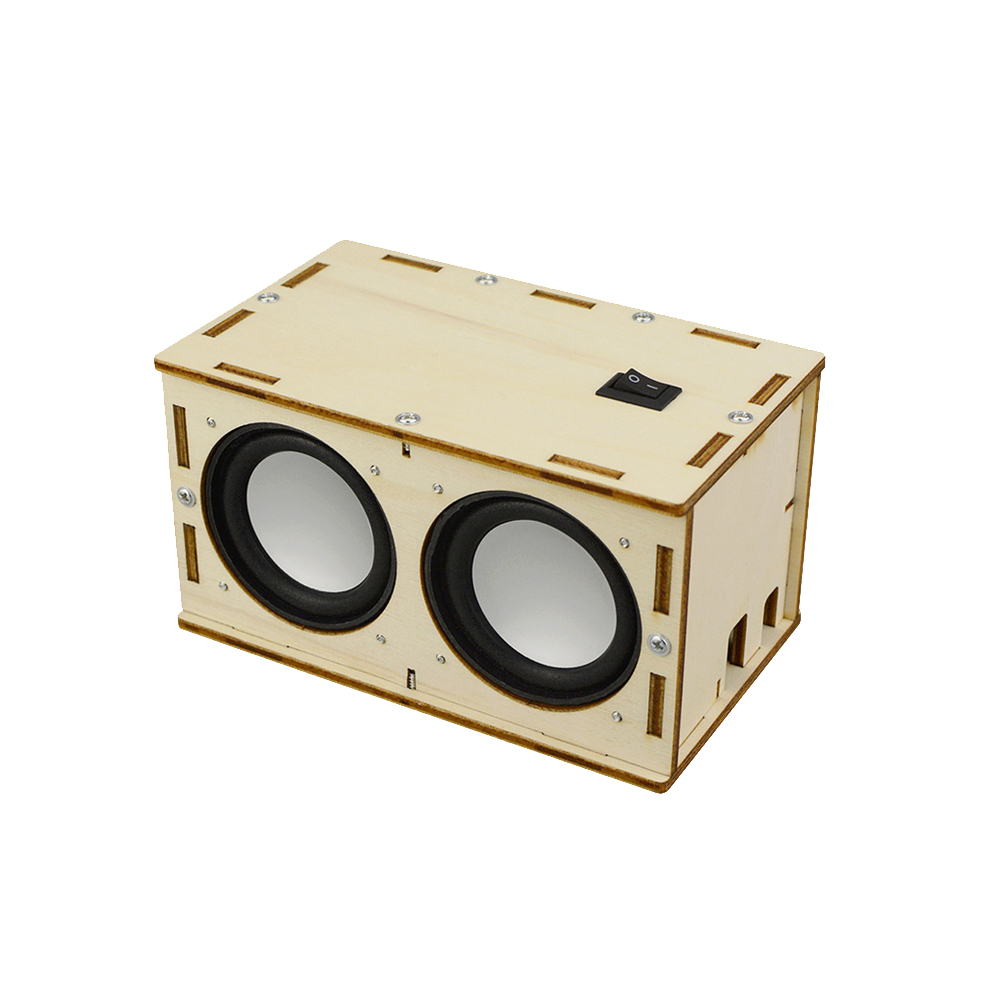 DIY Bluetooth Speaker Material Package Physical Science Experiment Toys For Children DIY Handmade Tool Kit Set Electronic Toys