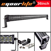 36 38INCH 195W LED LIGHT Work Driving Led Light Lamp Bar Offroad SUV SPOT FLOOD COMBO