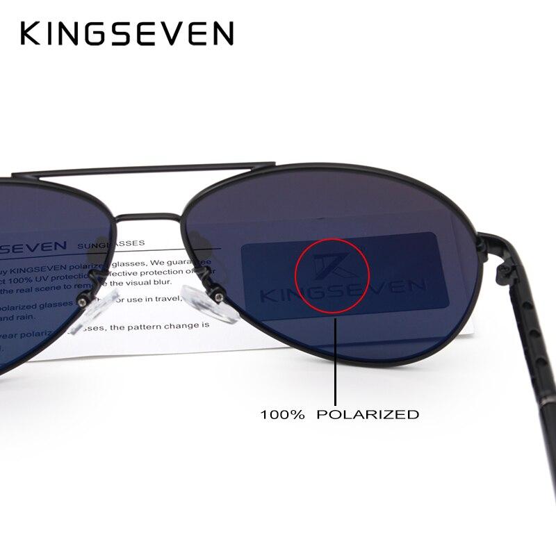 2019 Nouvelle arrivée KINGSEVEN Lunettes de soleil polarisées - Accessoires pour vêtements - Photo 5