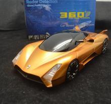 ¡ Caliente! del Radar del coche detector de banda completa de 360 Grados de Protección Alerta de Voz Detección Laser Detector detector de Forma Del Coche de Bugatti