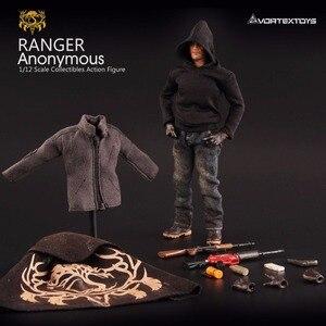 Image 3 - Vortex Toys YEW Series Ranger Anonymous 1/12 Action Figure