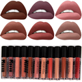 2017 MISS ROSE Brand Makeup Lips Nude Lipstick Matte Kits Batom Liquid Matt Lip Gloss Nude Lip Tint Maquiagem