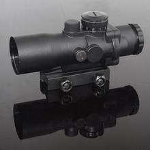 WIPSON цель оптический прицел 3X Увеличение 3×30 Красный Синий Зеленый Черный Reticle оптика Прицел Для Охоты страйкбол пневматическое оружие