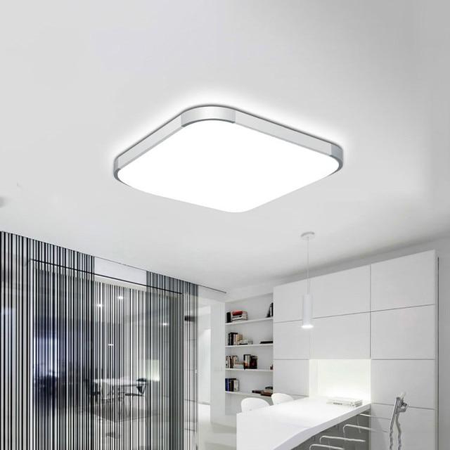Modern 24w 30cmx30cm Square Led Ceiling Light Led Ceiling: 50% OFF 2018 Modern LED Apple Ceiling Light Square 24W