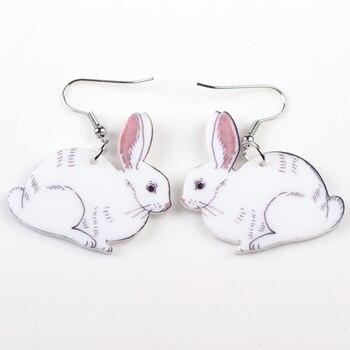 idée de cadeau geek et cinéphile boucle d'oreilles lapin