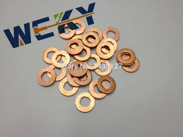 Best Quality F00VC17503 Common Rail Injector Copper Ring 7*1.5*15MM ...