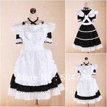 Auf verkauf! V-1044 Schwarz Klassische Halloween kostüme Gothic Lolita Kleid/viktorianischen kleid Cocktailkleid US6-26 XS-6XL