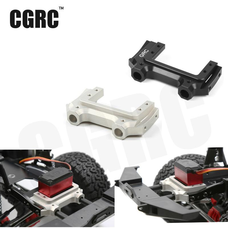 Metal Front Servo Stand Low Center Of Gravity Bracket For 1/10 Jeep Cherokee Wrangler Rc Crawler Axial Scx10 90047 90046 injora new rc car interior decoration for 1 10 axial scx10 ii 90046 90047 cherokee body car shell