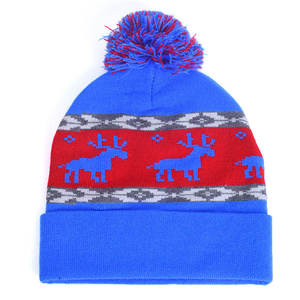 b9dec8885 2018 Winter Hats For Women Beanie Autumn Hat Skullies & Beanies Cartoon  Christmas Deer Gorros Mujer Invierno HT063
