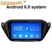 Ouchuantgbo Автомагнитола на Android 6 с GPS навигация мультимедийный плеер для JAC S2 2016 2017 с bluetooth четырехъядерный Зеркало Ссылка