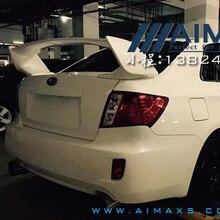 Для 2007- Subaru Impreza WRX STI стиль задний багажник спойлер ABS Неокрашенный спойлер