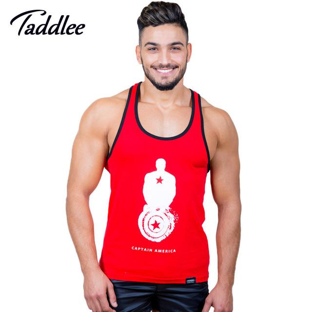 Taddlee tanque encabeça moda t dos homens da marca camisa sem mangas musculação regatas undershirts masculino ocasional do verão hip hop novo