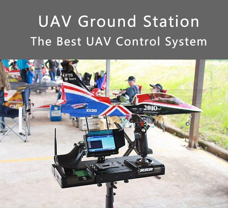 FPV UAV Machine Remote Control X52/X52 Pro /X55 Toy Audio Video UAV Ground Station In Explosion Proof Case fpv x uav talon uav 1720mm fpv plane gray white version flying glider epo modle rc model airplane