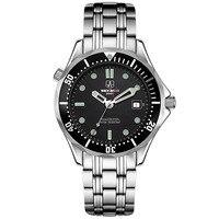 SEKARO Switzerland watches men luxury brand automatic mechanical watch military waterproof luminous James Bond 007 watches