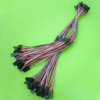 30pcs x 26awg 30cm wire Male Female Battery Plug JST RC Socket Connector Cable
