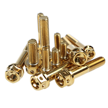 6pcs/lot 304 stainless steel Motorcycle screws M8*20/35/40/45/50/55mm screw M6*10/13/20/30/45mm  Motorcycle bolts