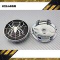 4x aranha NET 60 mm centro de roda hub capa de carro do ABS para cruze Malibu Aveo foco M3 x M5 # SO321