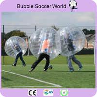Nadmuchiwane kula Bumper 1.5 M 5ft średnica bańkowa piłka nożna nadmuchiwane zderzak Bubble kulki dla dorosłych piłki nożnej 2 sztuk/partia
