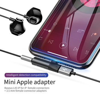 2 in 1 for Lightning to 3.5mm Jack Adapter Audio Cable for iPhone 1