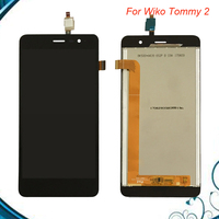 5 inchs Black color For Wiko Tommy 2 LCD Display + Touch Screen Assembly Replacement For Tommy 2 Free Shipment IN Stock