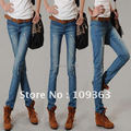 New Classic Ladies' Jeans,Popular Casual Denim Pants Pencil Pants Women's Trousers.Free shipping QQ8070