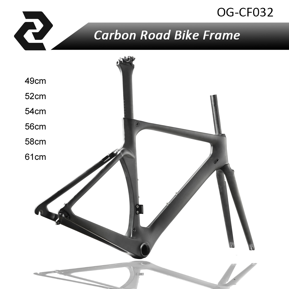 NEW T800 Carbon Road Bike Frame Aero Frame Bicicleta Di2 and Mechanical Racing Cycling Bicycles Parts BB86 49 52 54 56 59cm og evkin carbon road bike aero frame with integrated handlebar bicycle cycling sports parts bb86 di2 max 25mm tire glossy matt