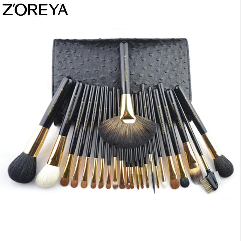 цена на ZOREYA Makeup Brushes Professional 24pcs Make Up Brush Set Powder Blush Foundation And Full Eye Brush Set For Makeup Artist