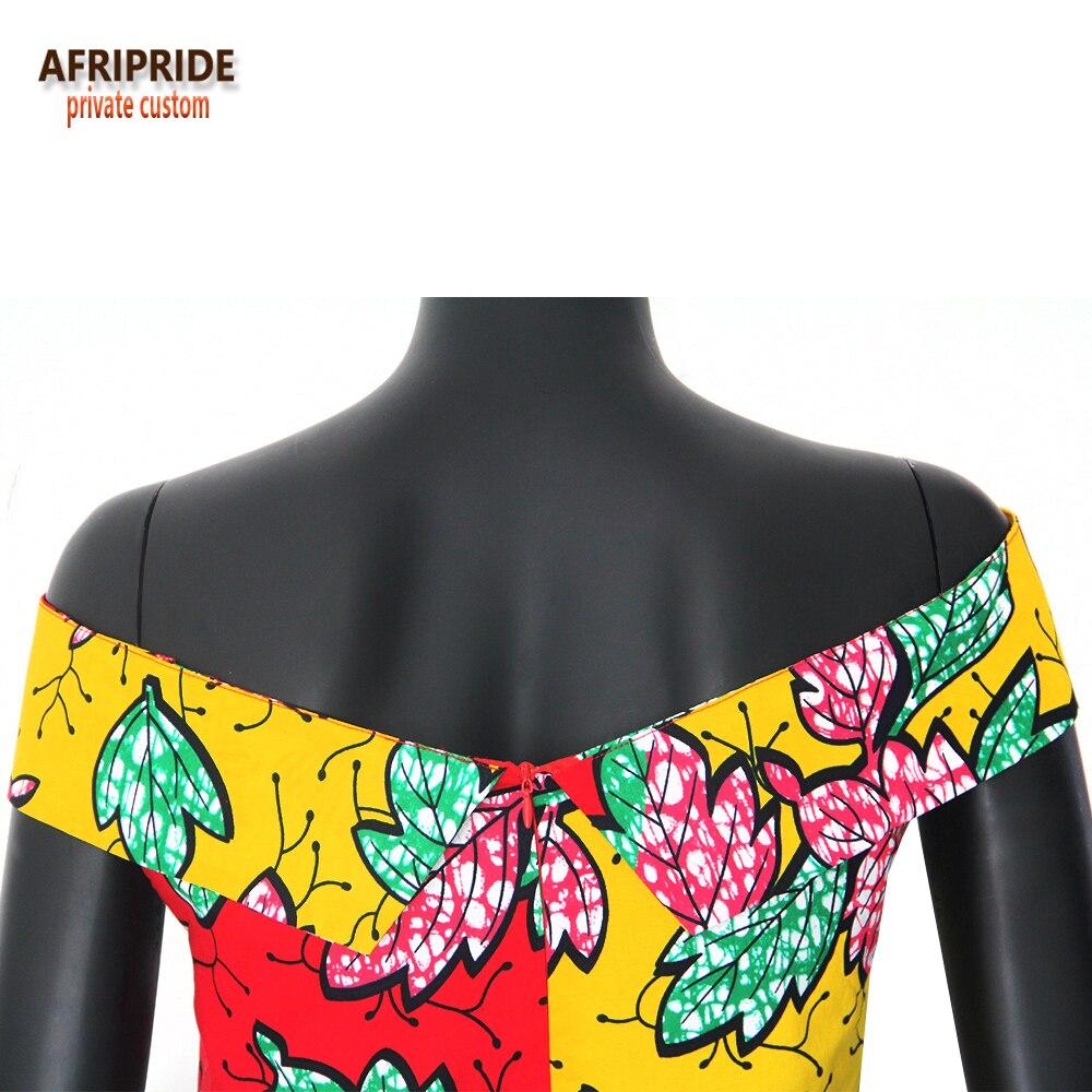 2019 ARIPRIDE privatna stranka haljina za žene ljeto pamuk V - izrez - Nacionalna odjeća - Foto 6