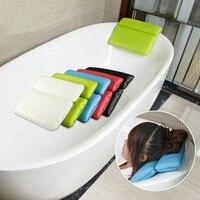 Bathroom tub bathtub pillow bath pillow headrest sucker waterproof very big soft spa bath pillow Bathroom SPA soft pillow