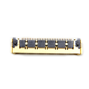 Image 4 - 10pcs/lot Brand New 30 pins Golden LCD LED LVDS Cable Connector For Macbook Air A1370 A1369 A1465 A1466