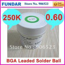 Оптом или в розницу 1 бутылка этилированный 0,60 мм 250 K bga паяльный шар