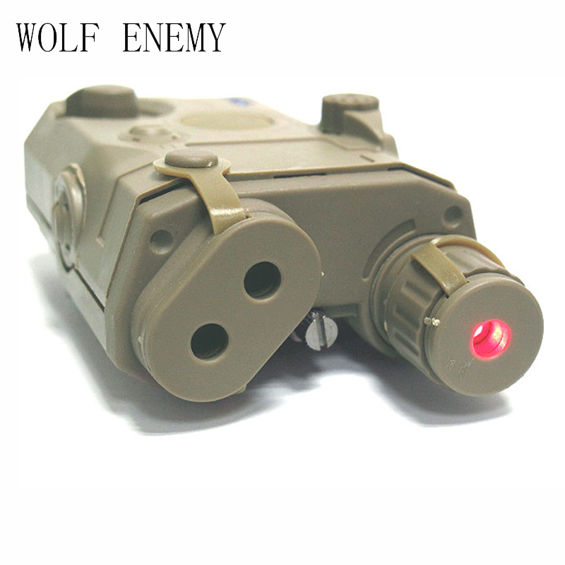 ②Nuevo an/PEQ 15 DE CAJA caja de la batería con láser rojo táctico ...