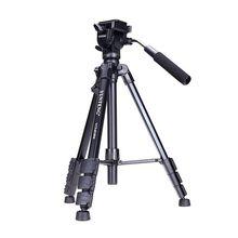 YUNTENG VCT 691 المهنية حامل ثلاثي من الألمنيوم مع عموم رئيس و حقيبة ل DSLR كاميرا 691