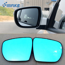 smRKE 2Pcs For Hyundai IX35 Rearview Mirror Blue Glasses Wide Angle Led Turn Signals light Power Heating